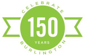 Burlington Vermont 150 birthday